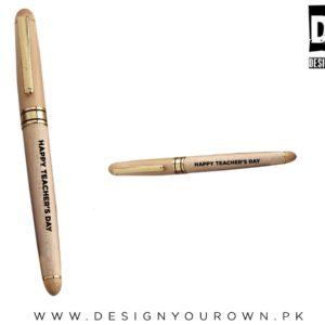 Engrave Wooden Pen