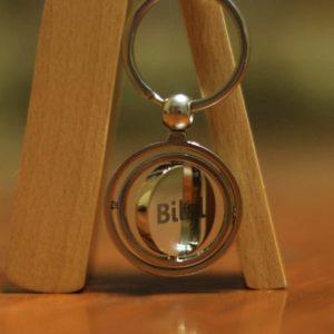 Customized Round Keychain