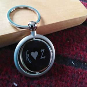 Customized Round Keychain