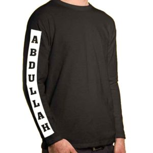 Customized Full Sleeves T-Shirts For Mens And Womens
