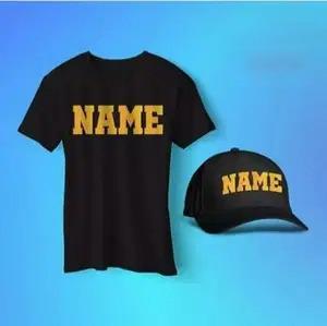 Customized T-shirt And Cap