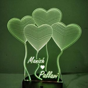 Romantic personalized Gift Lamp