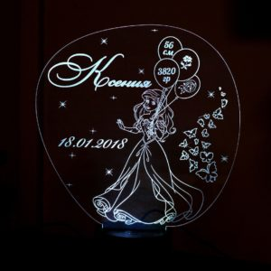 Design Your Own Customized Night Light Lamp