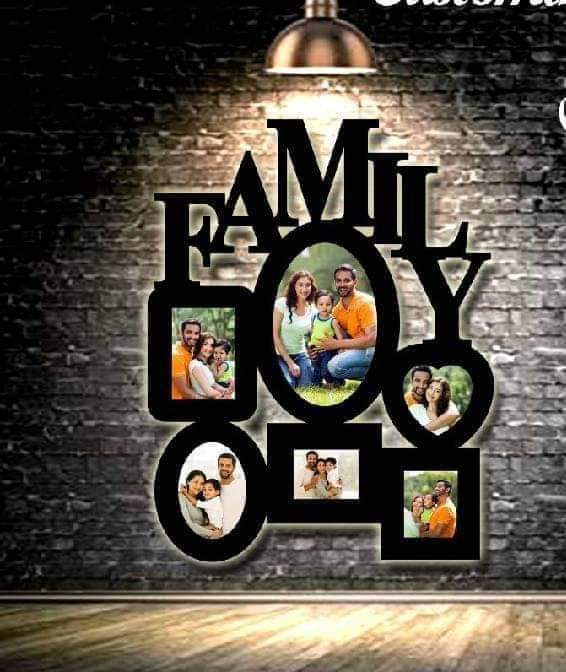 Design Your Own Customized Picture Family Frame
