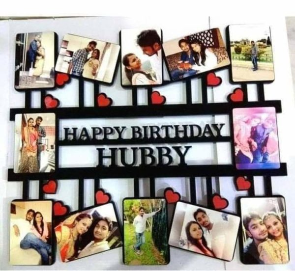 Design Your Own Customized Picture Happy Birthday Frame