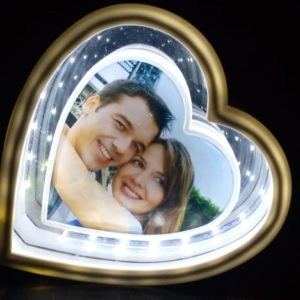 Design Your Own Heart Shape Picture Magic Mirror