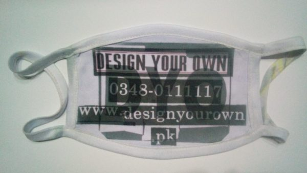 Design Your Own Customized Picture Or Name Masks