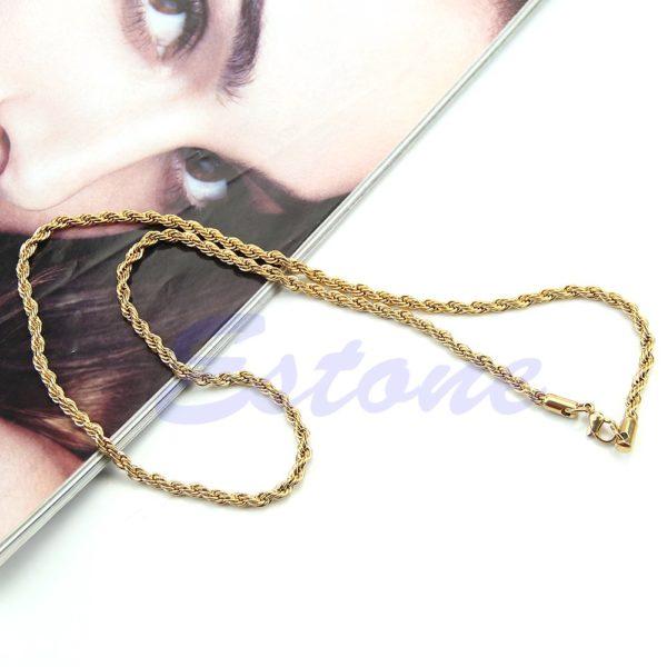 600mm Jesus Pendant Necklaces Men Women Gold Color Necklace Beads Jewelry