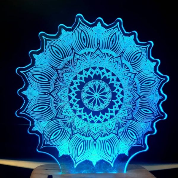 Design Your Own Round Shape Personalized Lamp