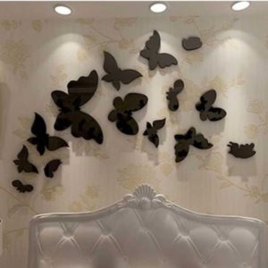 Design Your Own 16 pcs Acceralic Butterflies Set