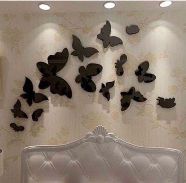 Design Your Own 16 pcs Acceralic Butterflies Set