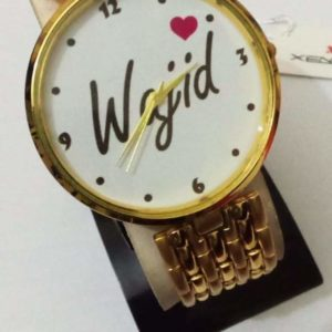 Design your Own Customized Picture Or Name Hand Watch In Chain