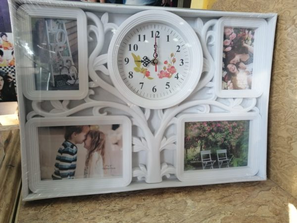 Design Your Own Customized Picture And Clock Frame