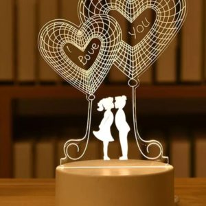Your Own Personalized LED Night Lamp