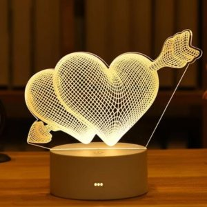 Customized Love Gift Lamp