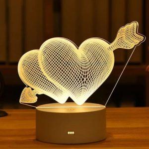 Customized Love Gift Lamp