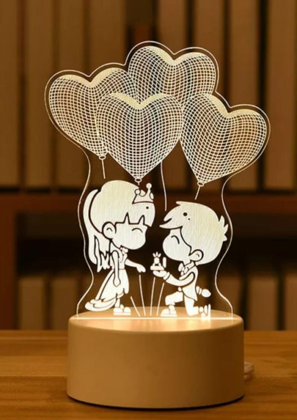 Design Your Own Personalized LED Gift Lamps