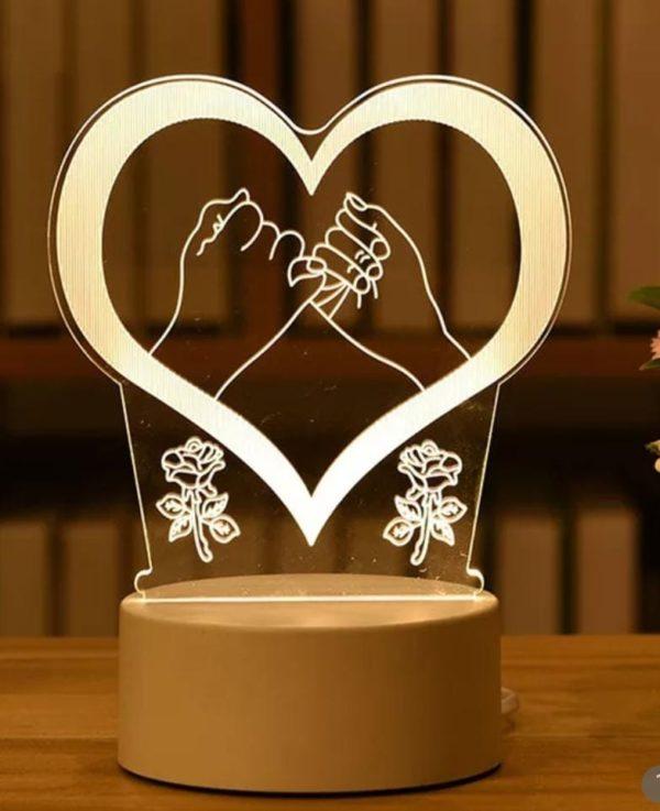 Personalized Night Light Lamp