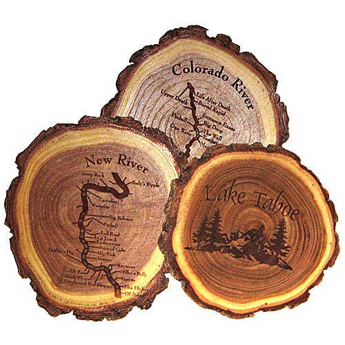 Design Your Own Customized Wooden Gift Round Shape