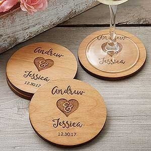 Design Your Own Customized Wooden Tea Coaster