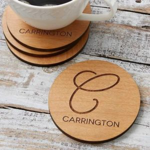 Design Your Own Customized Wooden Tea Coster