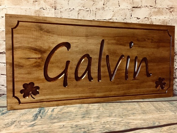 Design Your Own Personalized Outdoor Wooden Name Plate
