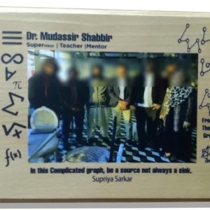 Design Your Own Customized Picture And Name Wooden Table Frame (8x6)