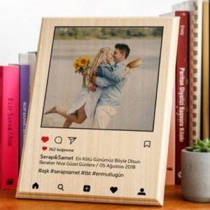 Design Your Own Wooden Picture Frame (6x8)