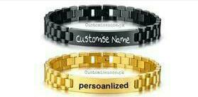 Design Your Own Personalized High Quality Engraved Bracelet