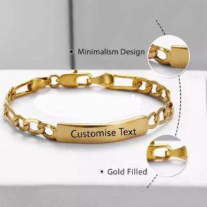 Design Your own Kids Name Engrave Bracelet