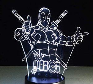 Design Your Own Super Hero 3D Lamp