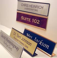 Design Your Own Table Name Plate
