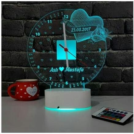 Design Your Own Personalized LED Gift Night Lamp