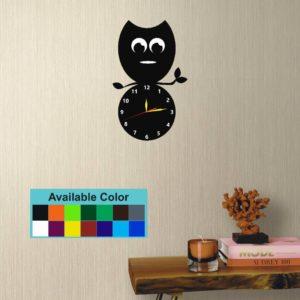 Acceralic wall clock