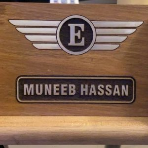 Design Your Own Custom Wooden Name Plate (6x4)