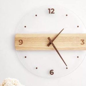 Design your own custom Transparent Acceralic Wall Clock