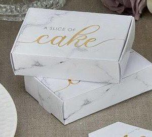 Design your own Custom Printed Cake Box