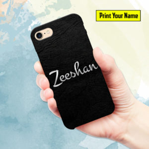 Design your own Name Printed Mobile Cover