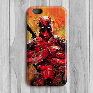 Design your Own Deadpool Mobile Cover